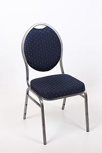 tafels en stoelen stoel blauw gestoffeerd